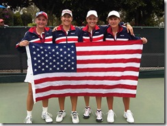 Women's 40 with flag high res